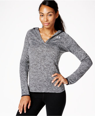 Under Armour UA TechTM Heathered Hoodie $44.99 thestylecure.com