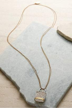 Soft Surroundings Padlock Necklace