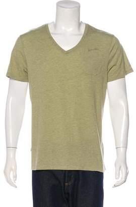 G Star Logo V-Neck T-Shirt