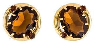 829a37a1f Prada Crystal Clip-On Earrings