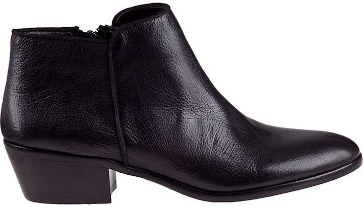 Sam Edelman Petty Ankle Boot Black Suede