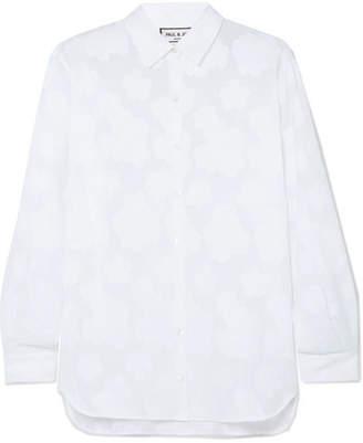 Paul & Joe Roma Cotton-jacquard Shirt - White
