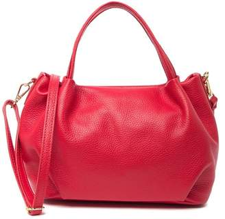 Anna Luchini Leather Convertible Shoulder Bag