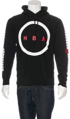 Hood by Air Logo Graphic Hoodie