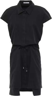 Alexander Wang Embellished Cotton-twill Mini Dress