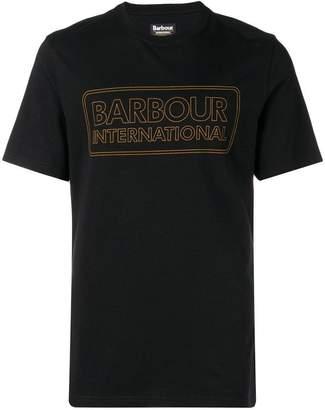 Barbour line logo T-shirt