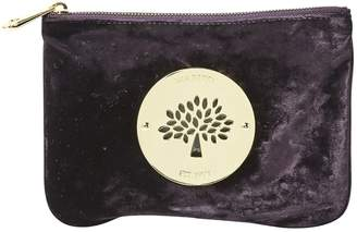 Mulberry Velvet clutch bag