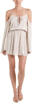 Honey Punch Cold-Shoulder Shift Dress