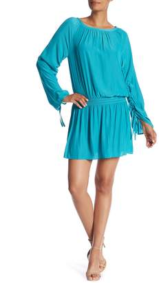 Ramy Brook Johanna Smocked Waist Dress