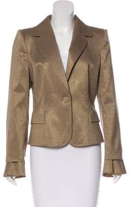 Valentino Metallic Wool Blazer