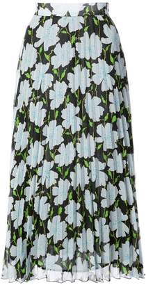 Off-White floral print skirt