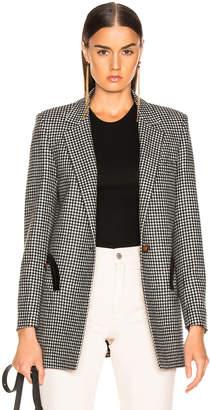 BLAZÉ MILANO Fair and Square Timeless Blazer in Black & White Check | FWRD