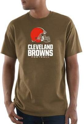 Majestic Cleveland Browns NFL Critical Victory Cotton Tee