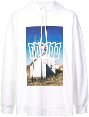 Calvin Klein Jeans Est. 1978 photographic print hoodie