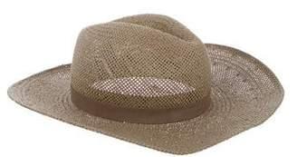 Janessa Leone Woven Straw Hat
