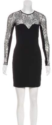 Mason Lace-Trimmed Mini Dress