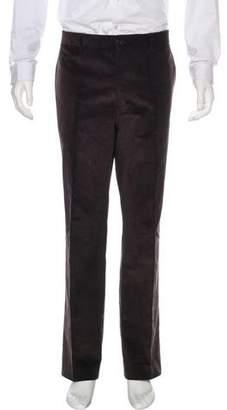 Etro Corduroy Straight-Leg Pants