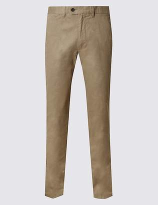 Marks and Spencer Slim Fit Chinos with StormwearTM