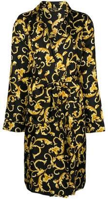 Versace printed robe
