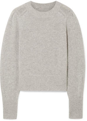 Isabel Marant Conroy Cashmere Sweater - Light gray