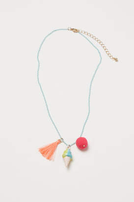 H&M Necklace with Pendants - Turquoise