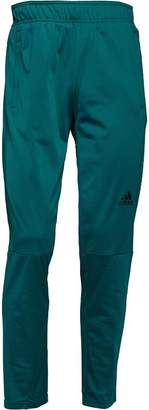adidas Mens Workout Climalite Tapered Poly Track Pants Mystery Green