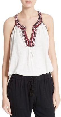 Women's Soft Joie Yvanna Embroidered Top $168 thestylecure.com