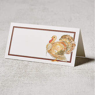 One Kings Lane Set of 24 Turkey Place Cards