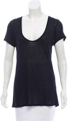L'Agence Knit Short Sleeve Top