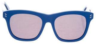 Stella McCartney Tinted Round Sunglasses