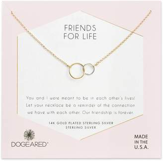 Dogeared (ドギャード) - Dogeared Friends for Life Necklace