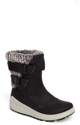 Ecco Noyce Water-Resistant Fleece Boot