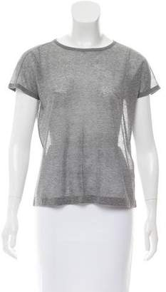 Steven Alan Short Sleeve Crew Neck Top