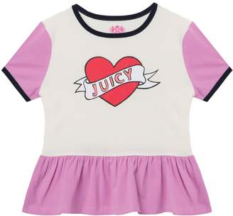 Juicy Couture Hello Sunshine Colorblock Tee for Girls