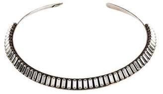 Dannijo Crystal Callum Collar Necklace