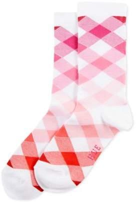Hue Women's Gingham Argyle Socks
