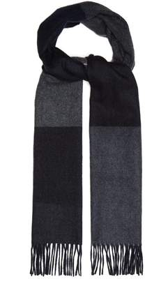 Co BEGG & Vigo striped wool and cashmere-blend scarf