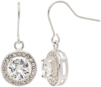 Swarovski CITY ROCKS City Rocks Made With Crystals 1 1/2 CT. T.W. Pure Silver Over Brass 10mm Stud Earrings