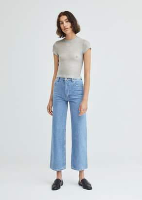 Eckhaus Latta Wide Leg El Jean True Blue