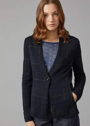 Giorgio Armani Jacket In Fancy Fabric