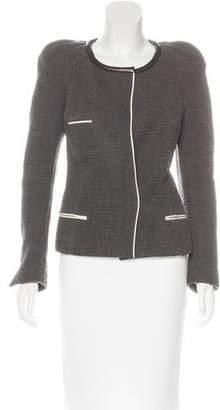 Isabel Marant Leather-Trimmed Embossed Jacket