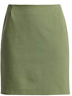 Akris Punto Women's Jersey Mini Skirt