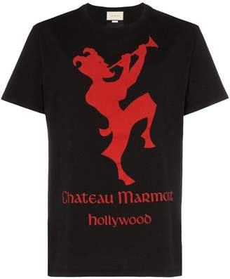 Gucci Chateau Marmont short sleeved T-shirt