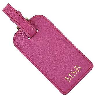 Graphic Image Personalized Leather Luggage Tag