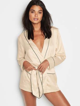 Victoria's Secret Victorias Secret Satin Tie-Waist Jacket