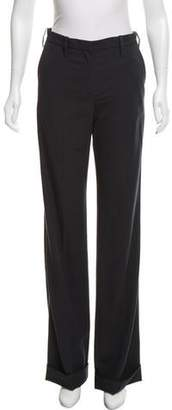 Lanvin Wool Wide-Leg Pants w/ Tags