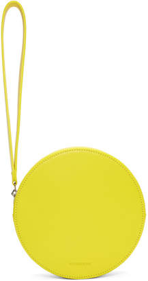 Building Block Yellow Puck Pouch
