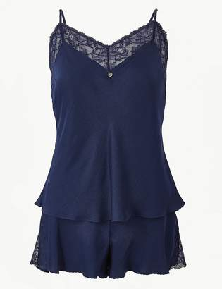 Marks and Spencer Lace Strappy Camisole Set