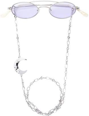 Linda Farrow X Alessandra Rich 2 C1 oval sunglasses