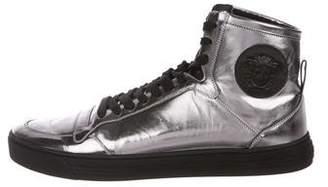 Versace Metallic Palazzo Sneakers